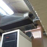 Data center VERnet DC - air conditioning system