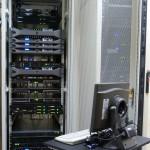 Data center VERnet DC - client's rack