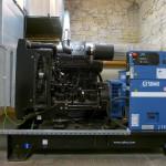 Data center VERnet DC - the diesel generator